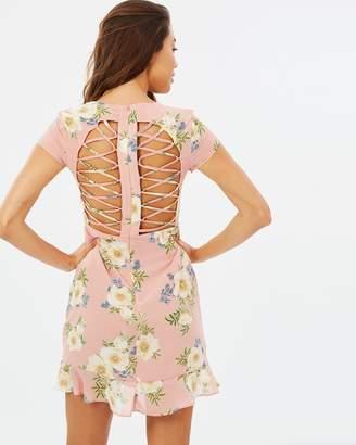 Bardot Lucy Lace Up Dress
