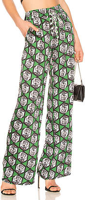 Milly Hexagon Floral Print Pant