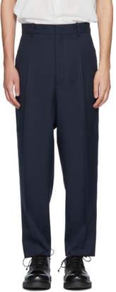 Jil Sander Navy Raven Trousers