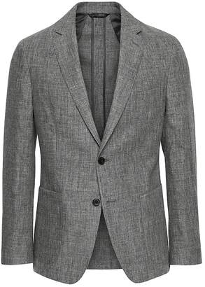 Banana Republic Slim Linen Suit Jacket