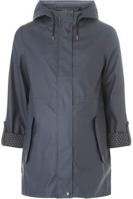 Dorothy Perkins Womens **Maternity Navy Rain Coat
