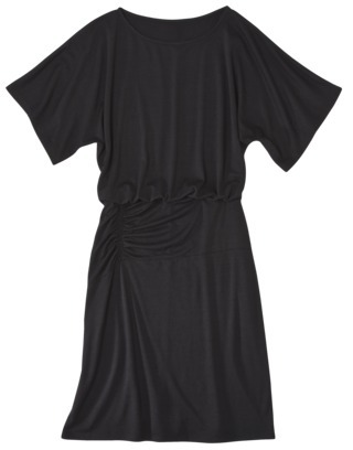 Mossimo Women's Dolman Sleeve Dress with Ruched Waist - Assorted Colors