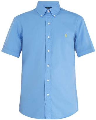 Polo Ralph Lauren Logo-embroidered short-sleeve cotton shirt