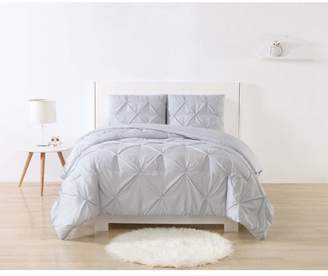 Laura Hart Kids Stripe Pinch Pleat Comforter Set