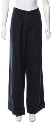 Band Of Outsiders High-Rise Wide-Leg Pants w/ Tags