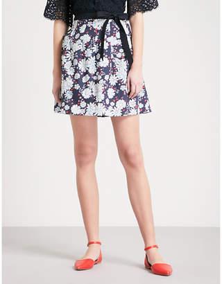Claudie Pierlot Floral cotton skirt