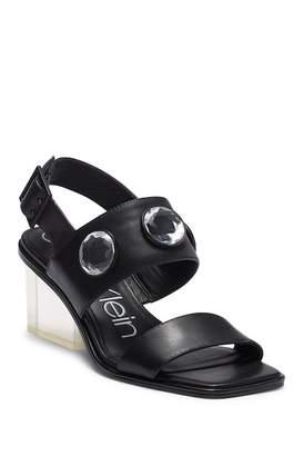 Calvin Klein Kadyn Block Heel Sandal