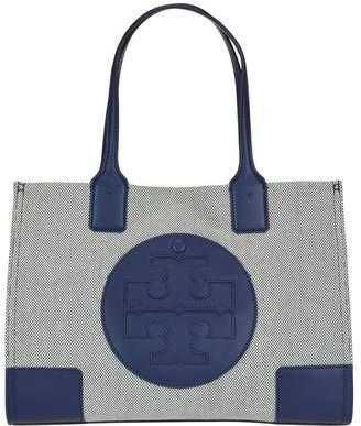 4f98f5af17e7 Tory Burch Ella Canvas Mini Tote Bag