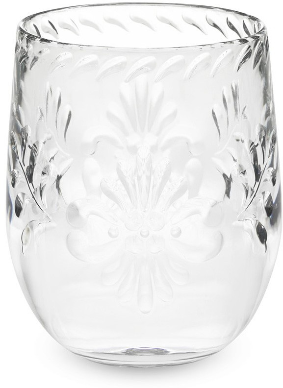 Williams Sonoma Sonora Etched Stemless Wine Glasses, Set of 6