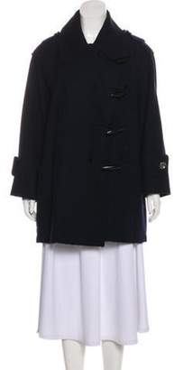 Burberry Wool Short Coat Wool Short Coat