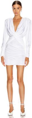 Redemption Double Twist Dress in White | FWRD
