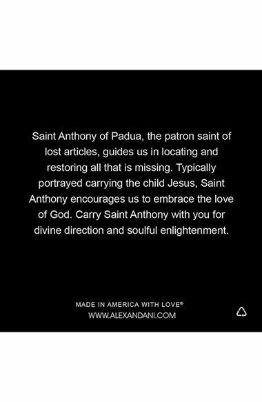 Alex and Ani 'St. Anthony' Wire Bangle