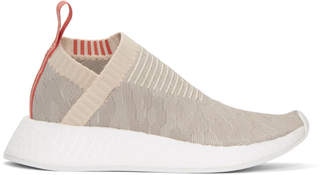 adidas Beige and Grey NMD CS2 PK Sneakers