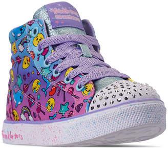 704539b79d47 Skechers Little Girls  Twinkle Toes  Twinkle Breeze 2.0 - Sparkles   Smiles  High-