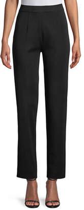 Misook Straight-Leg Knit Pull-On Pants, Plus Size