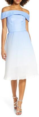 Chi Chi London Mireya Off the Shoulder Party Dress