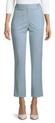 Victoria Beckham Slim-Leg Cropped Trousers