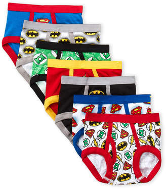 Justice League (Toddler Boys) 7-Pack Boys Super Hero Briefs