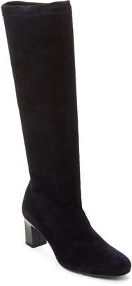 Robert Clergerie Prisca Stretch Suede Tall Boots