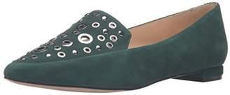 Nine West Women's Akeelah Leather Pointed Toe Flat