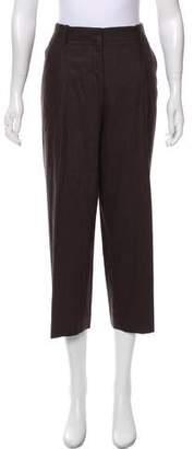 Lafayette 148 High-Rise Wide-Leg Pants
