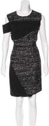 Prabal Gurung Tweed Sleeveless Dress