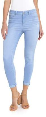 Time and Tru Women's High Rise Super Skinny Ankle Jean