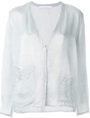 Elsa Esturgie Tara deep V shirt