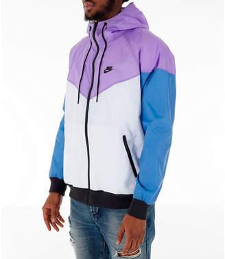 9dbdde730 Nike Men's Sportswear Colorblock Windrunner Hooded Jacket