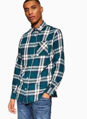 TopmanTopman Green 'Colby' Check Shirt