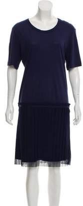 See by Chloe Short Sleeve Midi Dress