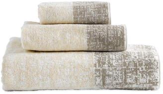 DKNY Crossway Jacquard Towel - Sandstone - Guest Towel