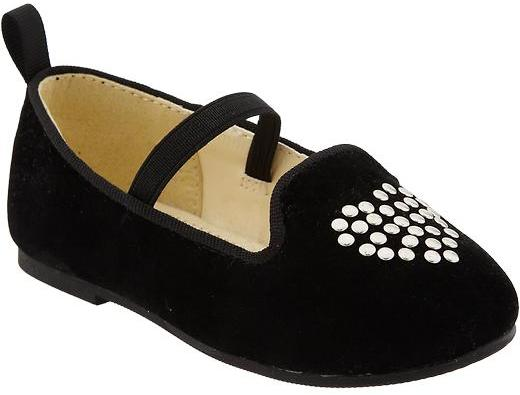 Old Navy Sueded Ballet Flats for Baby