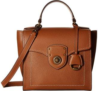 Lauren Ralph Lauren Millbrook Top Handle Crossbody Satchel Handbags