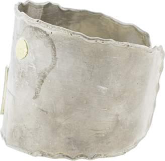 BOAZ KASHI Diamond Line Wide Cuff