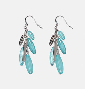Avenue Turquoise Bead Cluster Earrings