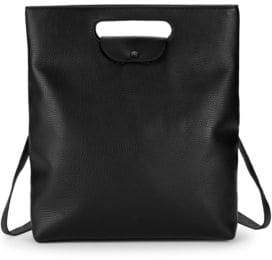 Steven Alan Cody Leather Convertible Backpack