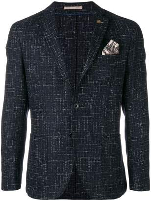 Paoloni front button blazer