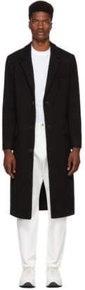 Ami Alexandre Mattiussi Black Long Three-Button Coat