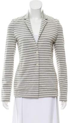 Woolrich Striped Notch-Lapel Blazer