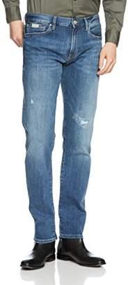 Armani Exchange A X Men's Light Wash Distressed 5 Pocket Jeans