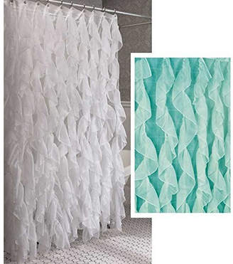 Willa Arlo Interiors Westendorf Cascading Waterfall Shower Curtain