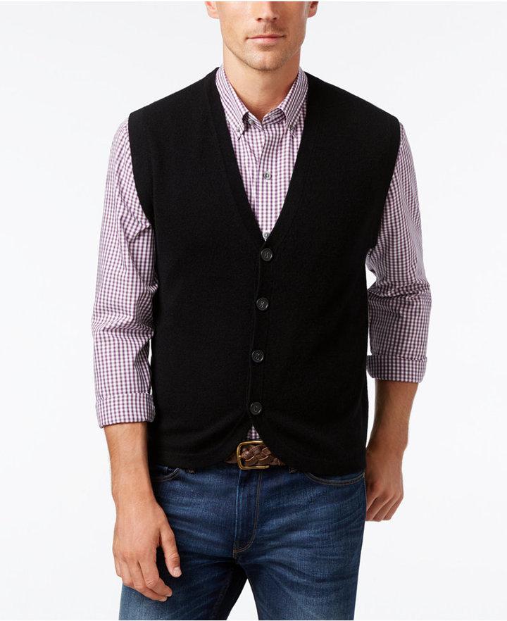 Cutter & BuckCutter & Buck Men's Big & Tall Bosque Sweater-Vest
