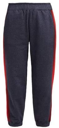 LNDR Horizon Side Seam Track Pants - Womens - Navy Stripe