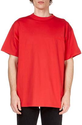 Balenciaga Men's Sinners Crewneck Jersey T-Shirt