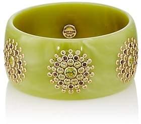 Mark Davis Women's Bakelite & Mixed-Gemstone Bangle - Green