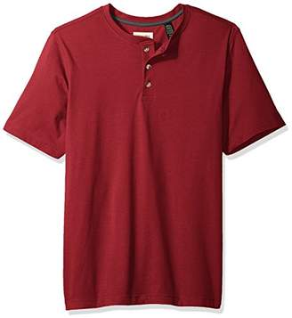Wrangler Authentics Men's Big & Tall Short Sleeve Henley Tee