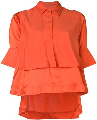 Carven double layer blouse
