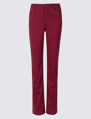 Marks and Spencer Roma Rise Straight Leg Jeans