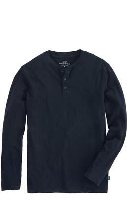 Vineyard Vines Jersey Garment Dye Slub Henley T-Shirt